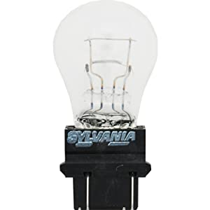 SYLVANIA 3157 Long Life Miniature Bulb, (Contains 10 Bulbs)