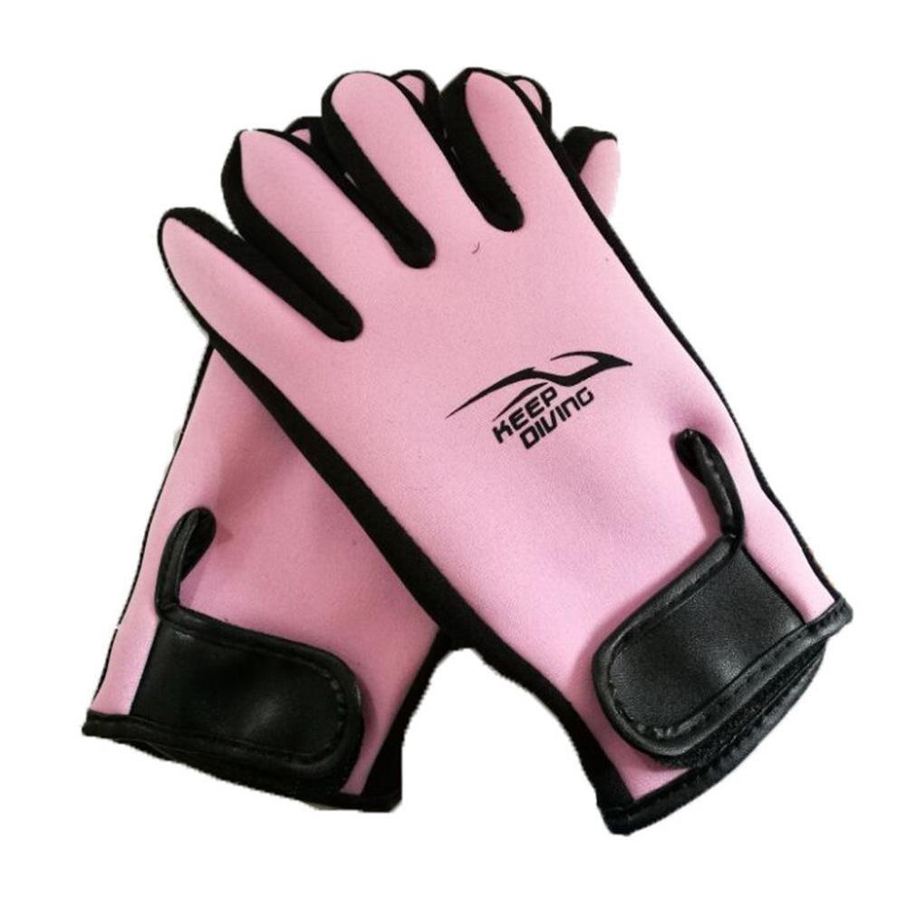 Tauchhandschuhe Premium Neoprenhandschuhe hochelastisch Handschuhe 2mm f/ür Sport im Wasser Tauchen Segeln Surfen