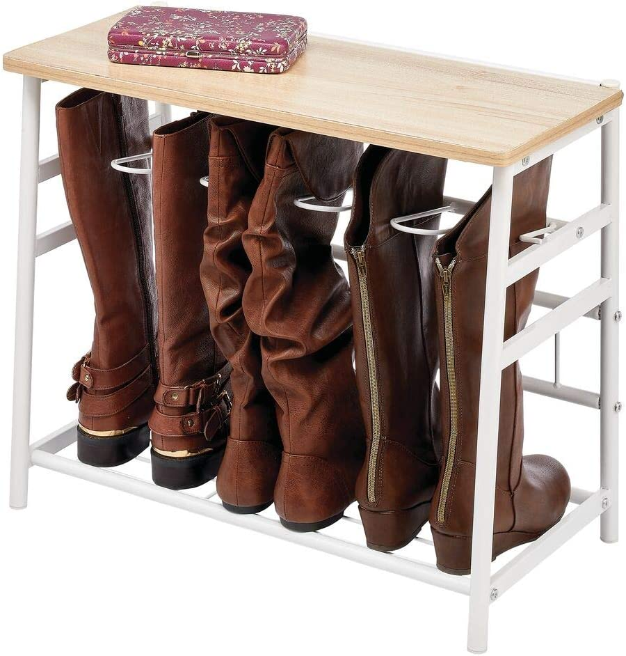 3 Pairs Indoor and outdoor use Shoe Storage Riding Boots And Welly Boots Great Organiser and Ideal For Walking Boots Wellies DIVCHI Boot Storage Rack