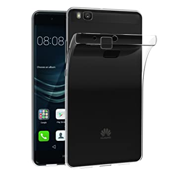 iVoler Funda Carcasa Gel Transparente para Huawei P9 Lite, Ultra Fina 0,33mm, Silicona TPU de Alta Resistencia y Flexibilidad