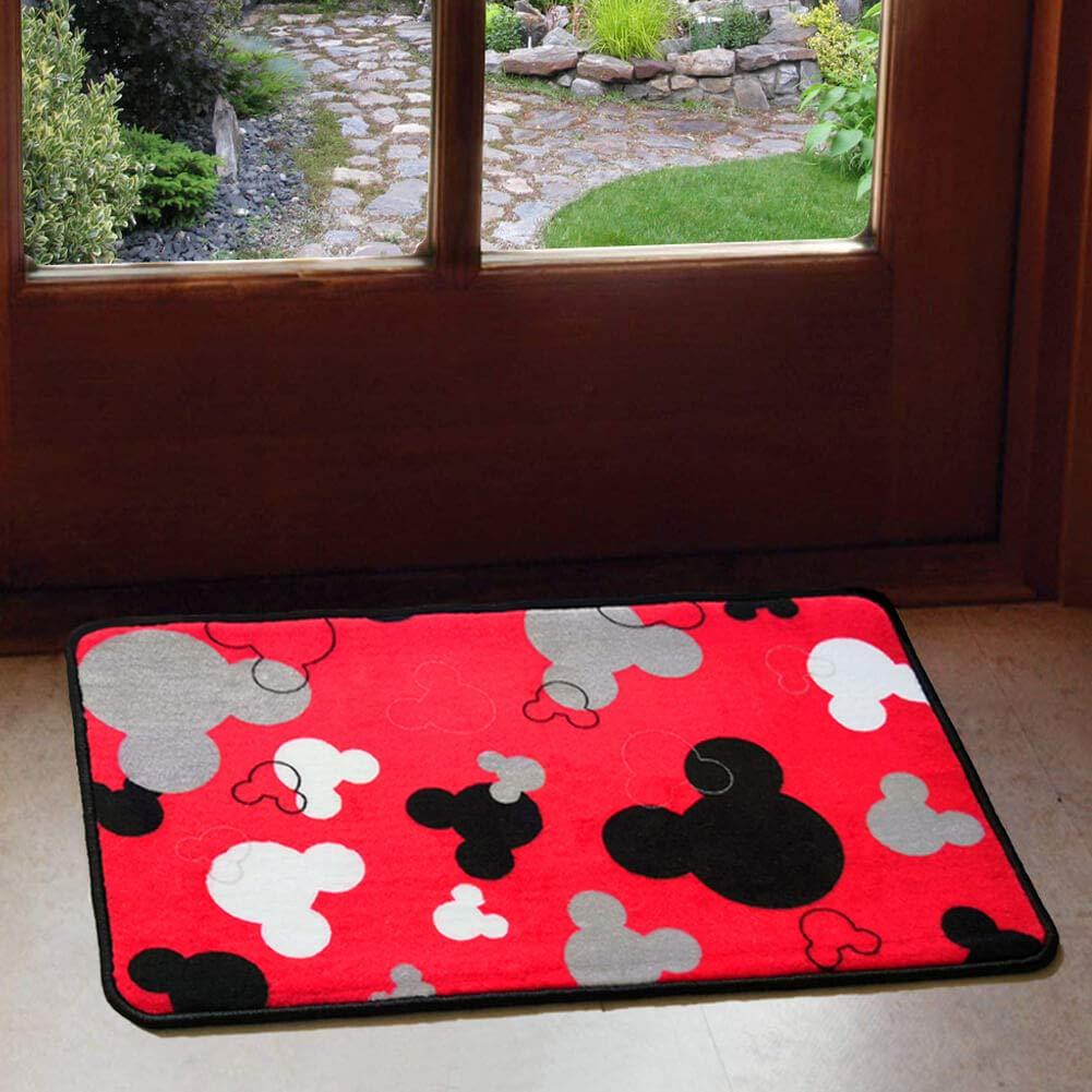 Welcome Door Mat Love Minnie Mouse Indoor Outdoor Entrance Rug Floor Mats Shoe Scraper 15.7 X 23.5