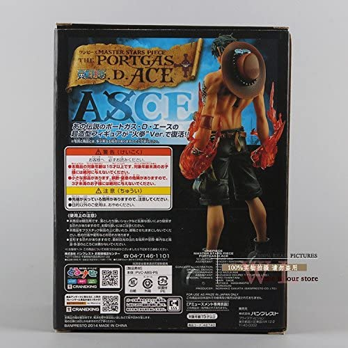 Amazon.com: Anime Una pieza estrellas Master Piece MSP ...
