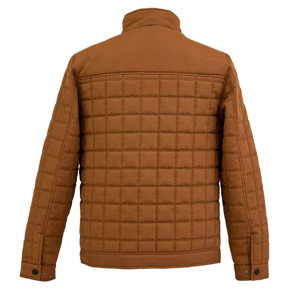Tempco Men/'s Western Sueded Microfiber Jacket TM137-WHEAT