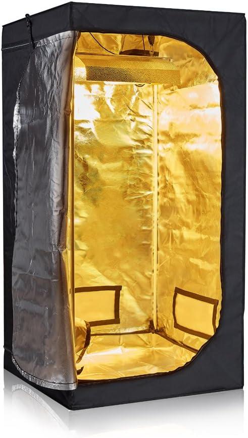 Hongruilite 24 x24 x48 36 x20 x63 32 x32 x63 48 x24 x60 48 x24 x72 48 x48 x78 96 x48 x78 Hydroponic Indoor Grow Tent Room w Plastic Corner 32 x32 x63