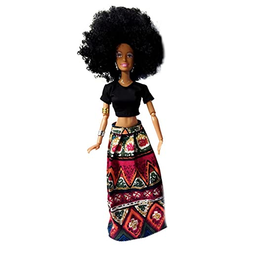 taottao bebé Movable Conjuntas africana muñeca muñeca de ...