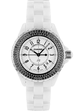 free shipping c2bb3 6b5a4 Amazon   [シャネル] CHANEL 腕時計 H1630 J12 レディース 33mm ...