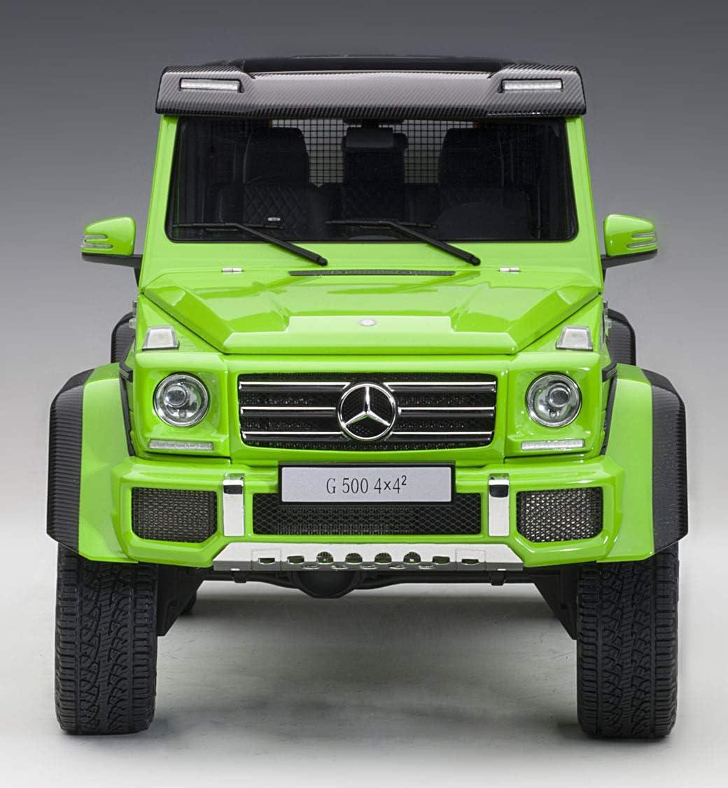 MERCEDES BENZ G500 4X4 2 ALIEN GREEN 1//18 MODEL CAR BY AUTOART 76315