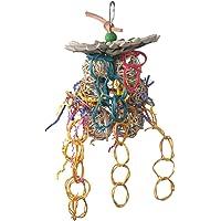 Super Bird Creations 10 by 5-1/2-Inch Mexican Hat Dance Bird Toy, Medium