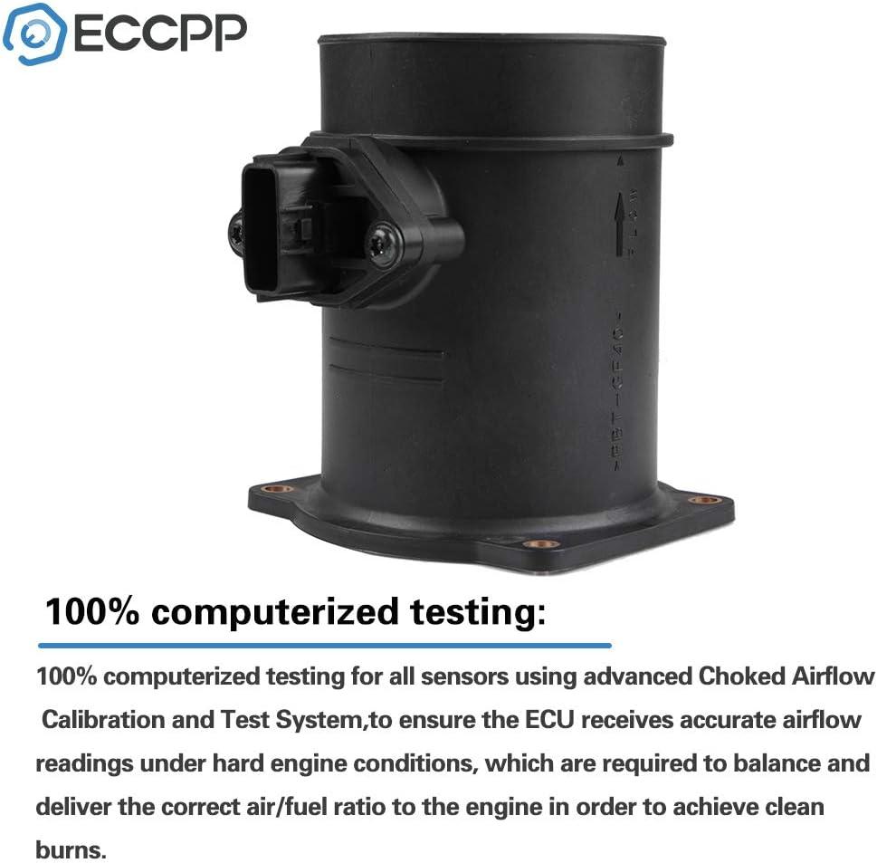 ECCPP Mass Air Flow Sensor Meter MAF 22680AR20A for Infiniti FX45 M45 Q45 2003 2004 4.5L 22680AR200