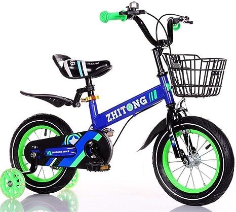 JLASD Bicicleta Niños Bici Boy/Bicicleta De Entrenamiento del Niño ...