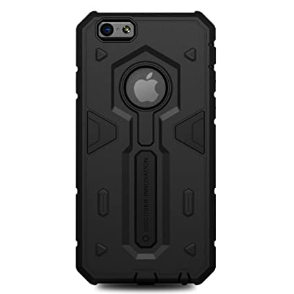 best service fda9a fcd52 Nillkin Defender 2 Series Cover Case Hybrid Armor Hard Cover For Apple  iPhone 6 Plus - Black