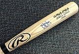 James Jones Signed Blonde Rawlings Bat Texas Rangers - Autographed MLB Baseball Bats
