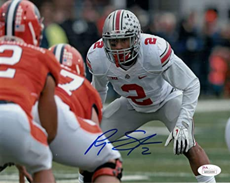 promo code 0b127 2d0c9 Ryan Shazier Autographed/Signed Ohio State Buckeyes 8x10 ...
