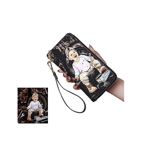 Carteras Personalizadas con Monedero de Piel de Foto para ...