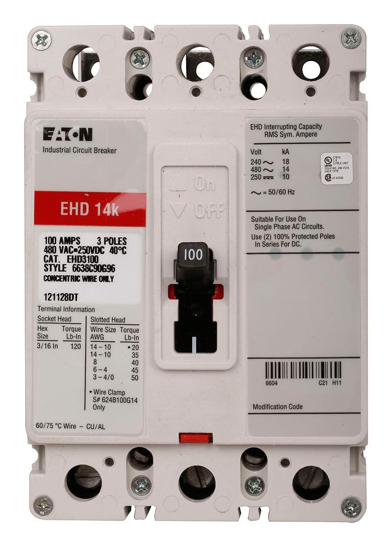 EHD3070 14K Series C by Eaton / Cutler-Hammer: Magnetic Circuit ...