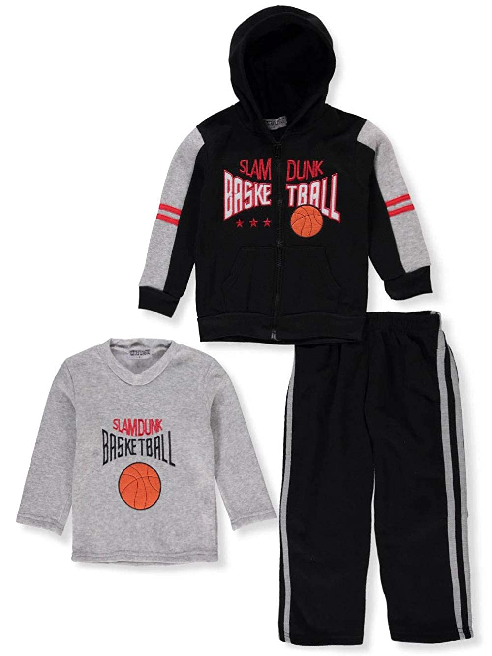 Victory League Boys' 3-Piece Sweatsuit Pants Set