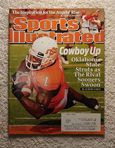 2009 Sports Illustrated Cover - Dez Bryant - Oklahoma State Cowboys - Sports Illustrated - September 14, 2009 - College Football - SI