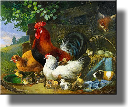 rooster painting - 6