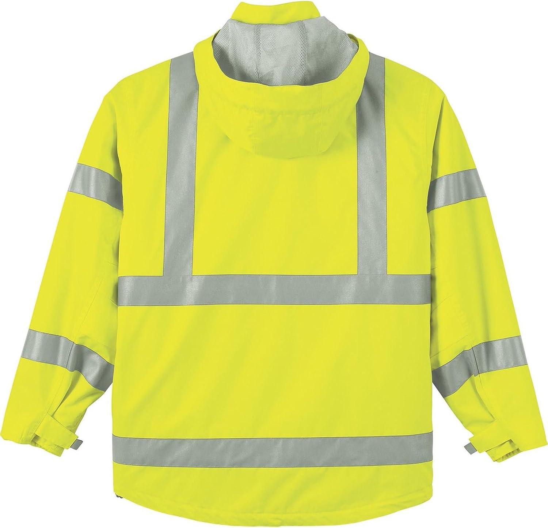 Ash City Vertical Stripe Safety Vest