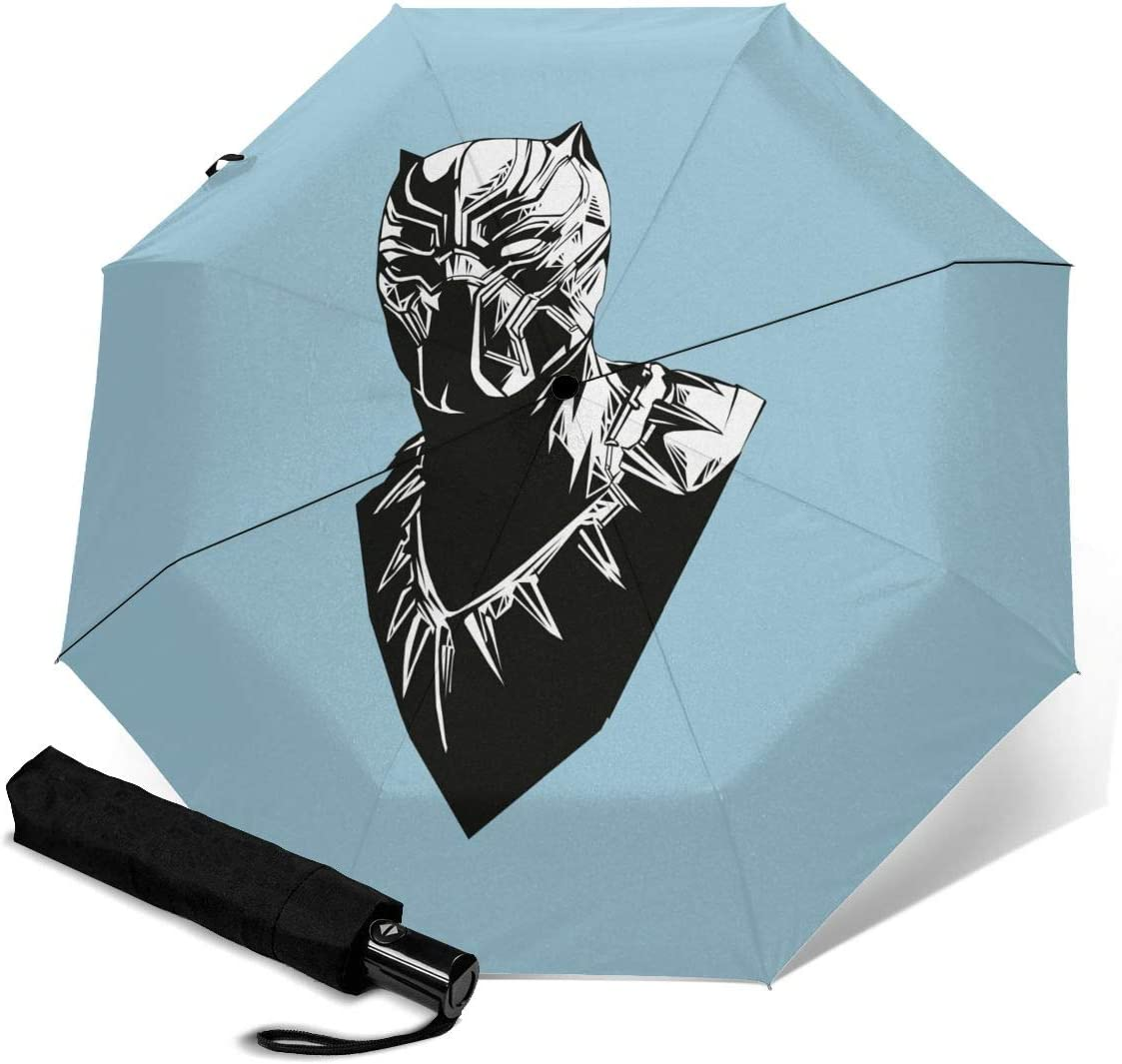 Aven-Gers G-AME Compact Auto Open Close Folding Business Umbrellas UV Protection Automatic Tri-fold Umbrella for Men and Women Lovesofun Portable Automatic Umbrella
