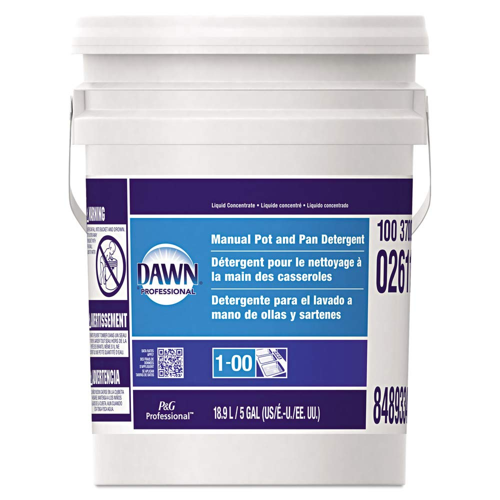 Amazon.com: Dawn Professional 70681 Manual Pot & Pan Dish Detergent, Original Scent, Five Gallon Pail: Home Improvement