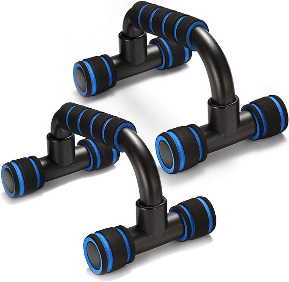 support de pompes portable pour entra/înement au sol QLG /& S Barre de pompes avec poign/ée rembourr/ée en mousse et structure robuste antid/érapante