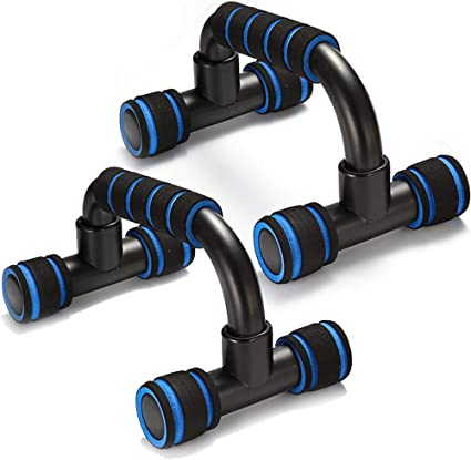 SESSRYMNIR Push Up Bars Push up Stands Pull Ups /& Strength Great for Men /& Women Strength Workouts Heavy Duty Steel Handles with Cushioned Foam Grips /& Slip Resistant Base for Muscle Ups