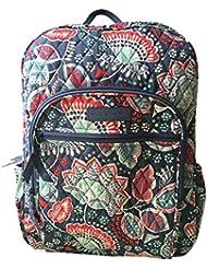 Vera Bradley Campus Backpack (Nomadic Floral with Grey Interior)