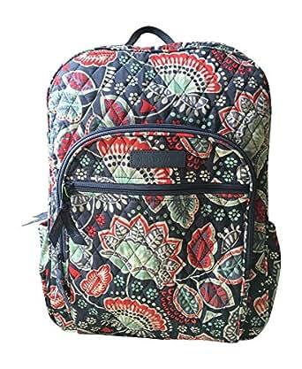 Amazon Com Vera Bradley Campus Backpack Nomadic Floral