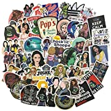 Riverdale Laptop Stickers 50pcs Pack, Adult&Teen TV Vinyl Skateboard Water Bottle Computer Travel Case Guitar Snowboard Luggage Car Bike Phone Graffiti Decal