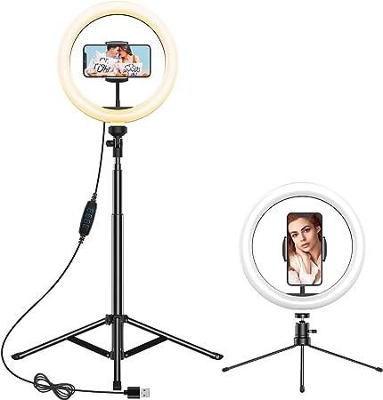 Anozer Led Ringlicht Mit Stativ 2 Alternativen Kamera