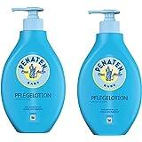 Penaten Pflege Lotion 400ml | Feuchtigkeitsspendende Körperlotion für die tägliche Pflege empfindlicher Babyhaut (2 x 400 ml)