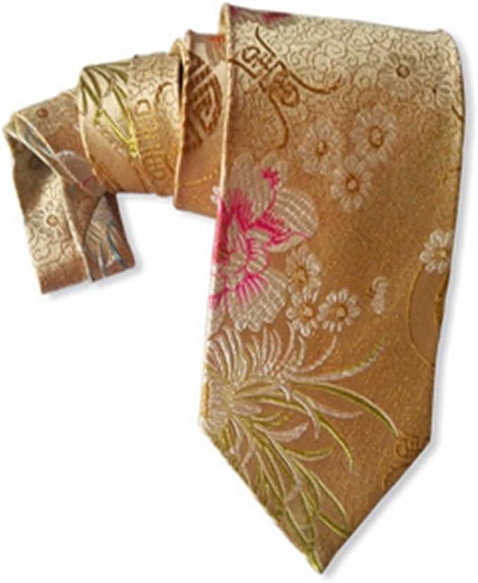 YYIILL Empate Lazo de seda de seda de seda de oro del lazo del ...