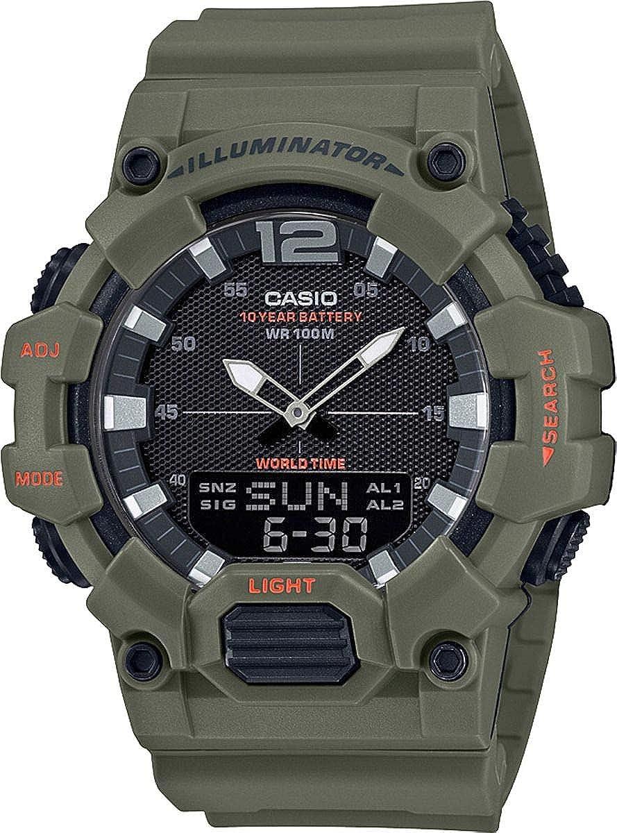 Casio Reloj para Hombre de Cuarzo con Correa en Resina HDC-700-3A2VEF