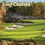 Golf Courses 2020 7 x 7 Inch Monthly Mini Wall Calendar, Golfing Sports
