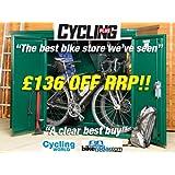 Cycle storage, Metal Bike Storage 6 x 3 ft(Supplied flat pack)