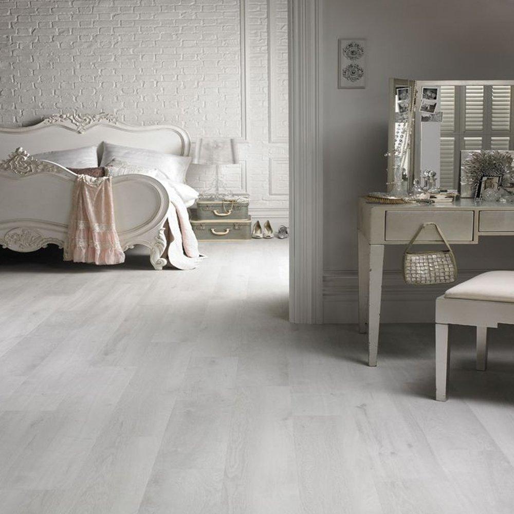 8 plisada suelo parqué laminado 2,131 M2 Arce blanco diseño arredo casa: Amazon.es: Bricolaje y herramientas