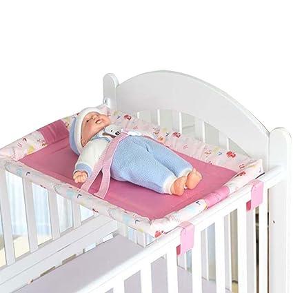 JD Cuna Mesa para Cambiar pañales para bebés Mesa de pañales para bebé Plegable Mesa Protección