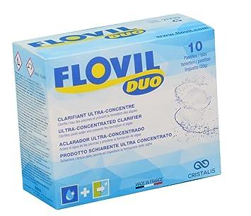 flovil Duo md9291 SOS eau trouble a doble acción, blanco