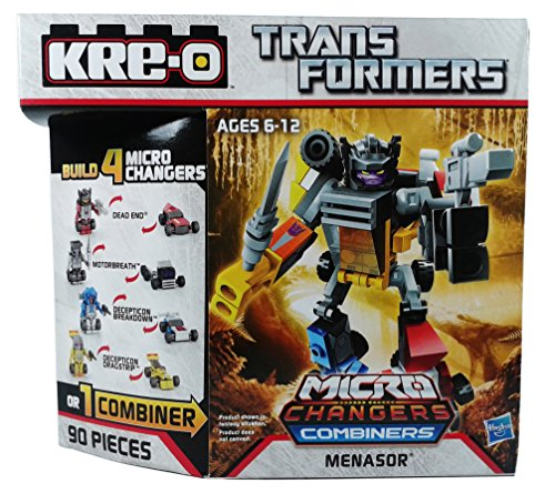 Kre-o Transformers Micro-changers Combiners Menasor Construction Set Buildable Action Figure