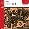 The Iliad Audiobook by  Homer, Ian Johnston (translator) Narrated by Anton Lesser