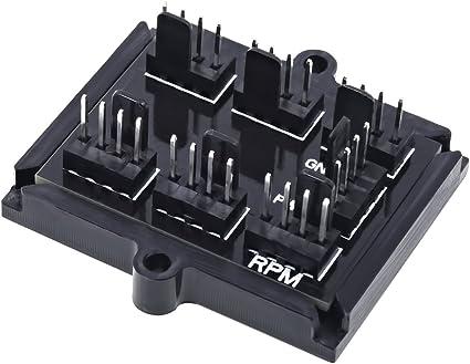 Phobya Duplicateur dalimentation 4Pin PWM vers 4X 4Pin PWM 60cm Noir C/âbles C/âbles de Ventilateur /& Adapter