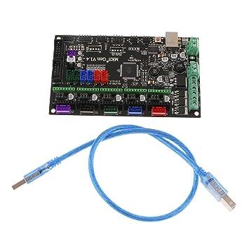 SM SunniMix 1x Tablero de Control de Impresora 3D Cable MKS Gen V1 ...