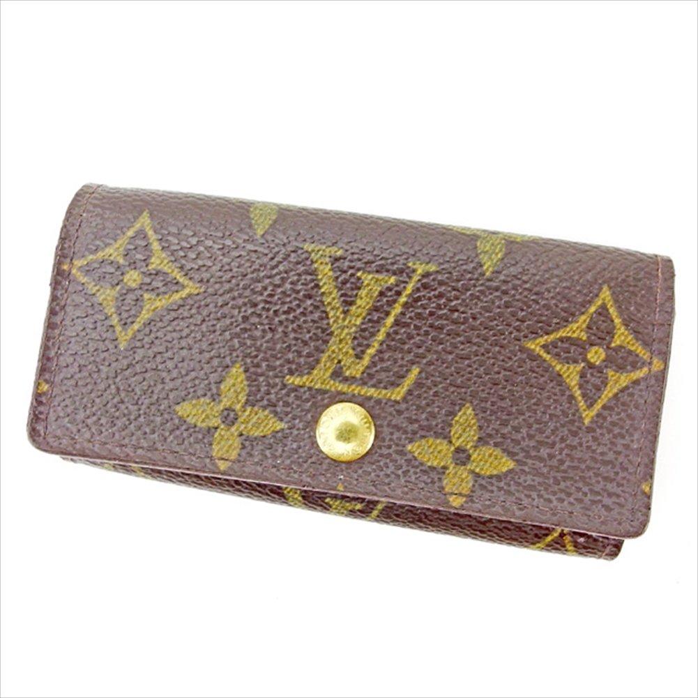 (ルイ ヴィトン) Louis Vuitton キーケース 4連キーケース ブラウン ミュルティクレ4 モノグラム メンズ可 中古 A1592   B0753B5YKV