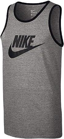NIKE Ace Logo Tank Camiseta de Tirantes, Hombre: NIKE: Amazon.es ...