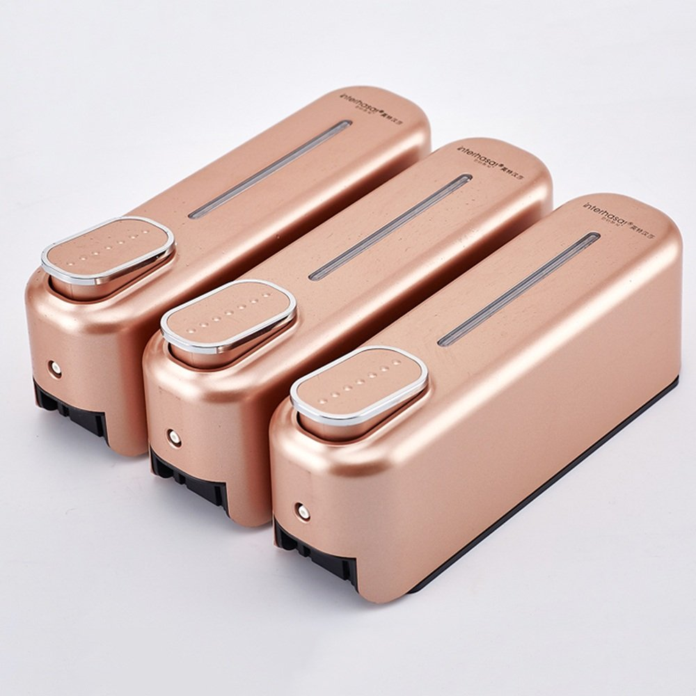 LF jabón y dispensador de jabón dispensador de loción/pared/tres cabezas Manual dispensador de jabón líquido/dispensador de jabón hotel/hogar/caja/mano ...