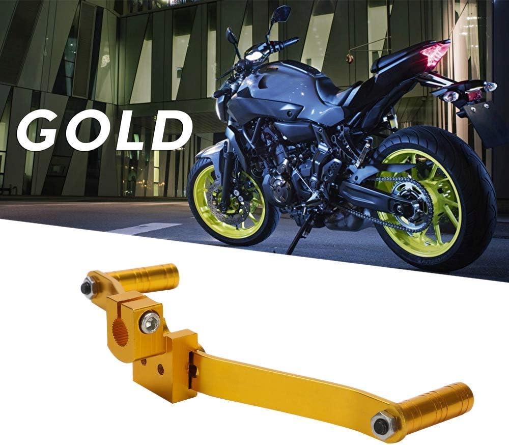 Dasorende Palanca de Cambio de Engranaje de Motocicleta CNC de Aluminio de Doble Cabeza Piezas de Moto de Motocross Universal en para la Modificaci/óN de la Motocicleta