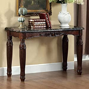Furniture of America Sofa Table, Espresso