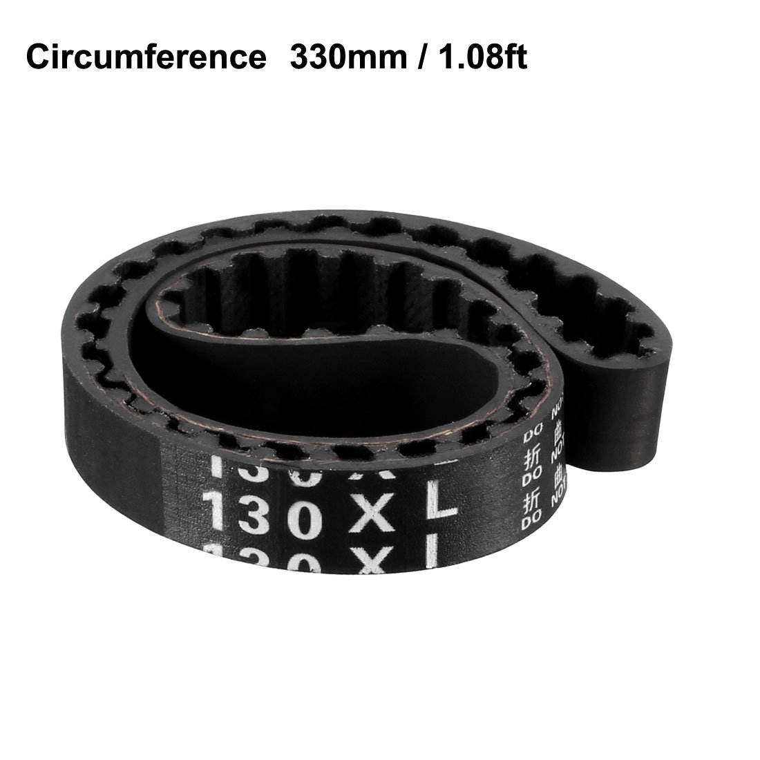 uxcell 142XL Rubber Timing Belt Synchronous Closed Loop Timing Belt Pulleys 10mm Width a16111400ux0164