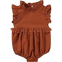 TMEOG Bodies para bebés, Monos para bebés niña, Mameluco Bebe niña pequeña recién Nacido Mono Body Ropa bebés-niñas